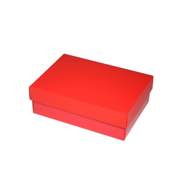 NOW $1.50ea - 50 x Slim Line A6 Gift Box - Gloss Red