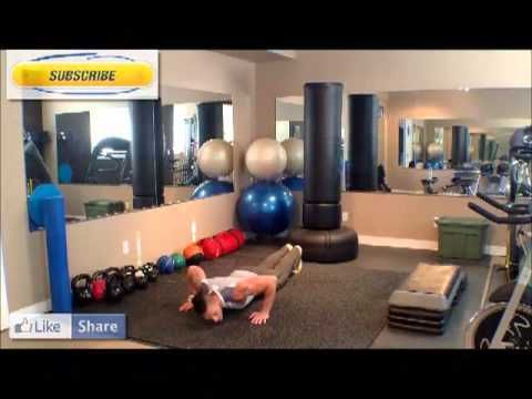Calgary Personal Trainer Push ups Tutorial. How to do a Push up by Bounc...