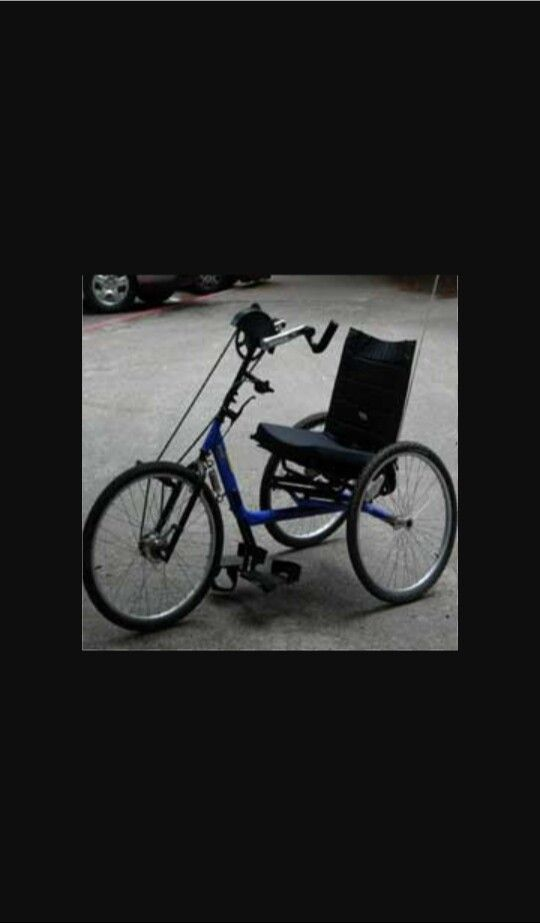 Good bike for handicaps so they can go bike riding to