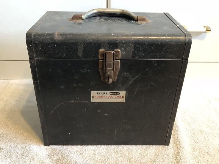 Vintage Sears Craftsman Power Tool Case (Case Only)  | eBay
