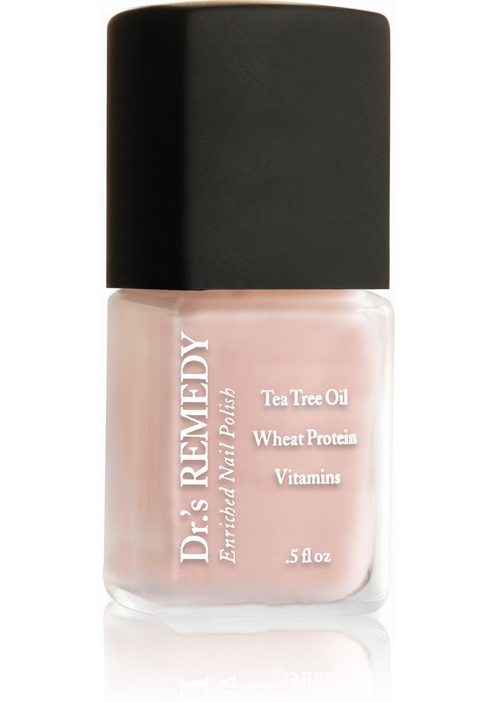Doctor Formulated Perfect Petal Pink Enriched Nail Polish Dr S Remedy Enriched Nail Care Nail Polish Pink Nail Polish Nails