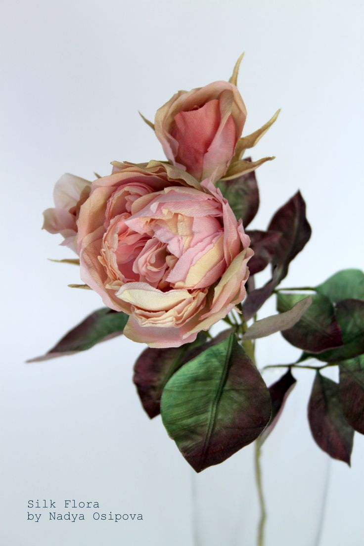 Мои шёлковые цветы
