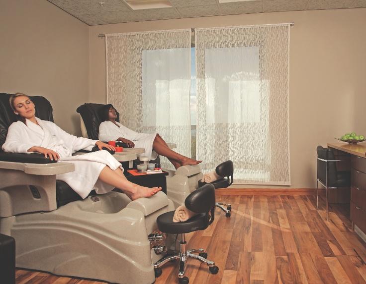 Radisson Blu Hotel, Sandton  Massage pedi chairs