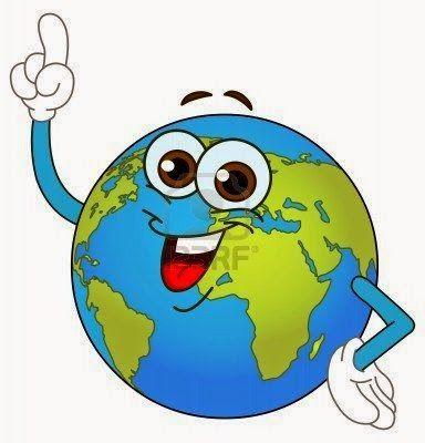 Maestra de Primaria: El planeta Tierra. El planeta azul. Dibujos para colorear.