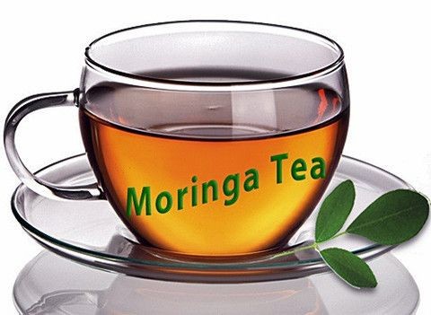 023. Moringa Tea Leaves 1kg   Free strainer
