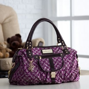 CoCaLo Couture Chloe Tile Jacquard Hobo Diaper Bag.