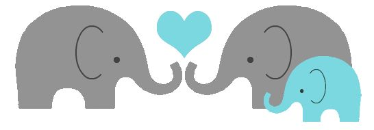 elephant family baby heart png hudson 39 s baby shower ideas