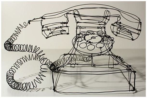 Art is not a luxury, it is a necessity. | Martin Senn Wire Art