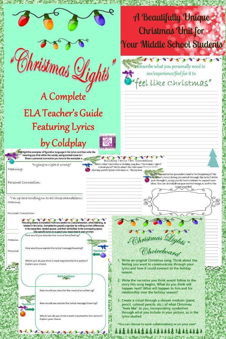 The Perfect Unit Of Study For The Holiday Months With Your Middle School Students That Will Engage Socratic Seminar Ela Lesson Plans Middle School Ela Lessons