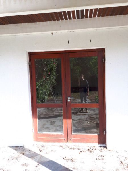 2010 x 1600mm timber glazed external double doors for sale. I have 5 sets. ...199538442