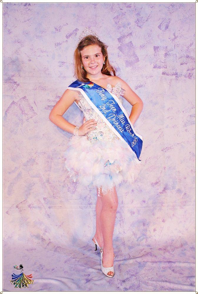 Tiny Teen Miss RSA 2015 - 2nd Princess Anche Steyn