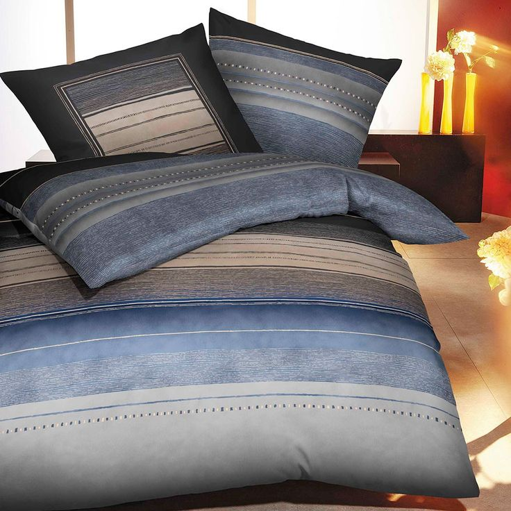 Kaeppel Biber Bettwäsche Dawn indigo online kaufen