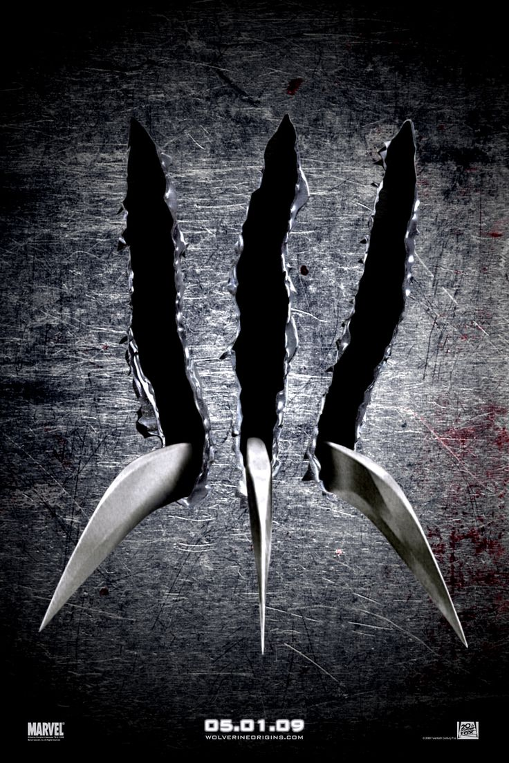 Wolverine Origins movie poster (2009)