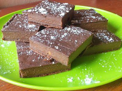 Édes burgonyás Brownie