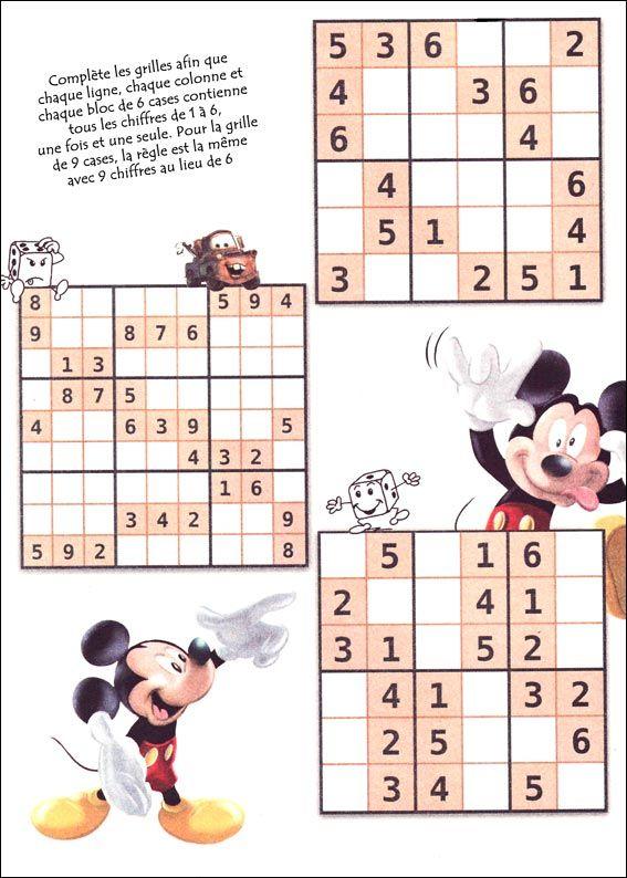 Hervorragend Les 25 meilleures idées de la catégorie Sudoku pour enfant sur  WJ69