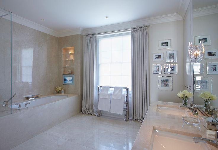 Interior design london houses knightsbridge for Bathroom interior design london