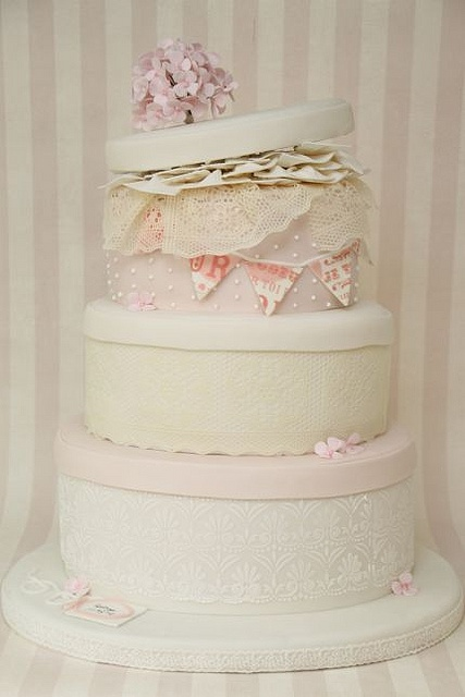 Find This Pin And More On Pastel Wedding Cakes By Craftcompanyuk