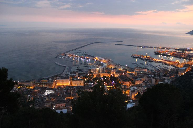 Salerno,Italy sunset#tramonto#günbatımı