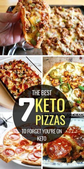 Las mejores recetas de pizza Keto! Fathead, corteza, cazuela, corteza de harina de almendra …..