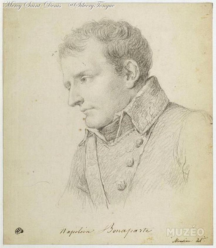 Nicolas-André Monsiau. Portrait de Bonaparte de profil à gauche. © RMN Gérard Blot.