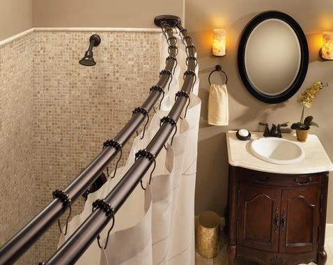 Cream Tan Brown Bathroom
