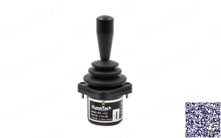 RunnTech Dual-axes Hall Effect Precision Fingertip Joystick for CNC Metal Cutting Machines
