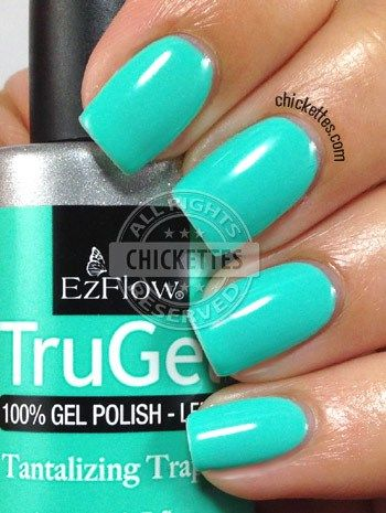 nails.quenalbertini: EzFlow TruGel Ringleader Collection Swatches - Tantalizing Trapeze