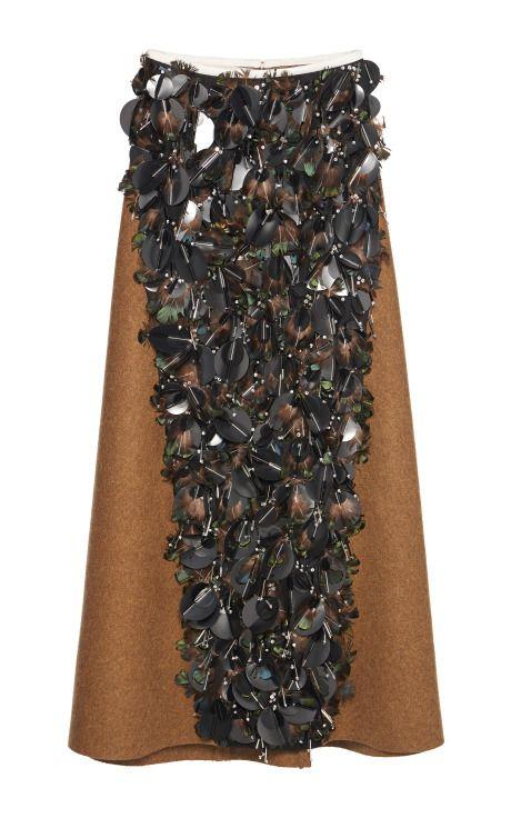 Clearance Popular Discount Classic Cupro Skirt - Bird of Paradise Mod by VIDA VIDA xfKyPELsY