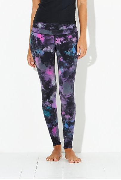 Studio Hatha Legging in Northern Lights | lucy activewear Work it Out / Wear it Out