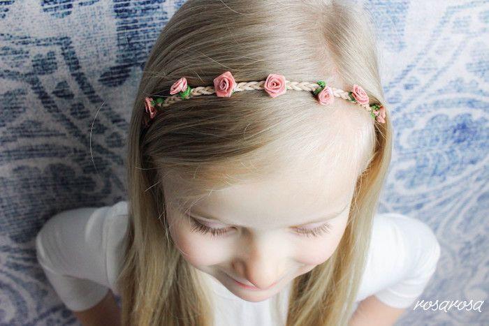 Last minute look !  Anleitung von Christina / Fräulein Rose:  Minuten ein Haarband