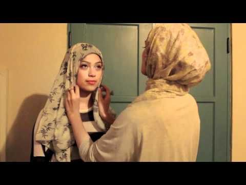 Austere Attire Hijab Tutorial: Everyday wear - YouTube