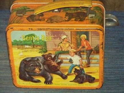 Gentle Ben: Lunch Boxes, Lunches Boxes, Lunches Kits, Vintage Lunches, Lovable Lunchbox