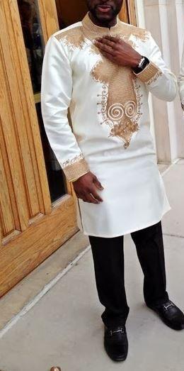 Vêtements africains pour hommes  Dashiki  homme africain