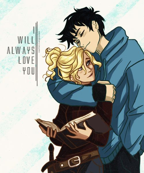 No matter how many versions of this particular Percabeth sketch I see, something melts inside me :3