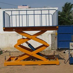 Double Scissor Hydraulic Scissor Lift Manufacturers, Exporters and Suppliers in Bangalore, India. Our products like Hydraulic Car Scissor Lift, Hydraulic Goods Lift, Hydraulic Scissor Lift, Hydraulic Dumb Waiters, etc. Hydraulic Lifts offered by Hydro Fabs are the best in market. Hydraulic Lifts are suitable for Lifting heavy loads.
