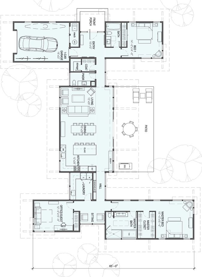 387 best concept homes shipping container floor plans images on - plan maison 170 m2 plain pied