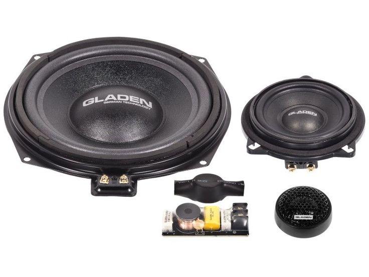 Gladen Audio ONE 201 BMW ALPHA autó specifikus 3-utas hangszóró szett