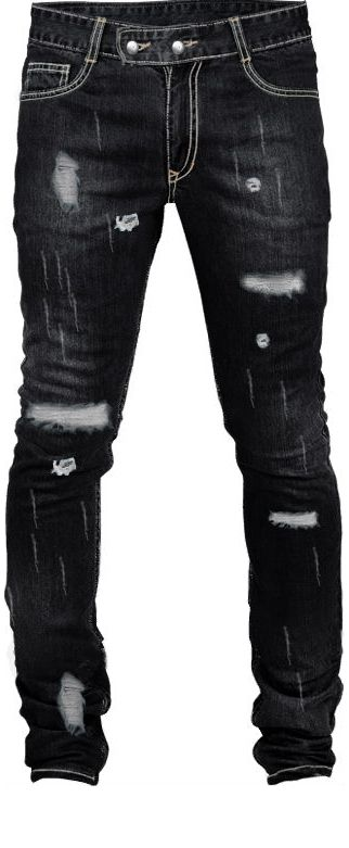 Embroidered skinny jeans for.. men! I want!!!!!!!!! <3