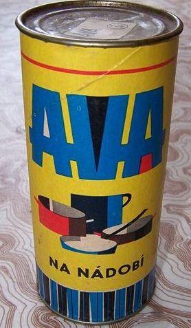 Ava - písek na nádobí