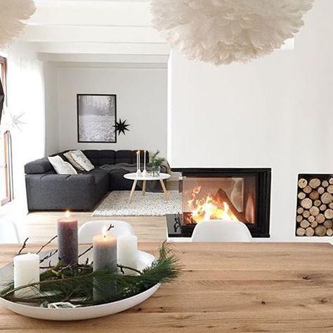 30 best Wohnzimmer images on Pinterest Home ideas, Corner - wohnzimmer modern kamin