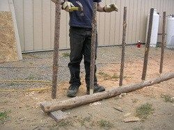 How to Make Wattle Fencing Step by Step for Animal and Garden Fencing