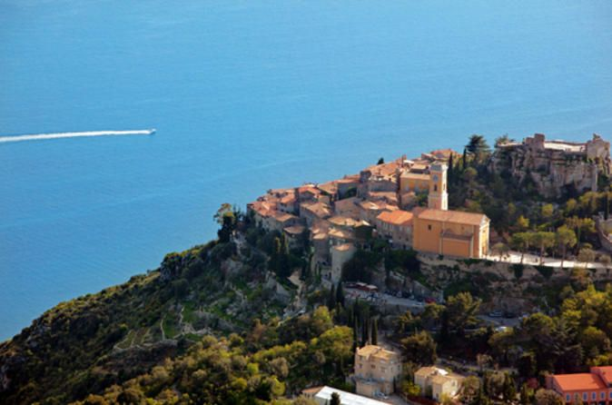 Monaco Super Saver: Small-Group Tour of Cannes, Antibes, Eze and Monaco  The Monaco Super Saver combines two popular small-group tours into one fantastic day at a discounted price. Enjoy a scenic drive along the stunning French Riviera (Cote d'Azur), pass Nice, and visit the charming town of Antibes, followed by a trip to Cannes. Walk along La Croisette Boulevard and see the Festival Palace, where the International Cannes Film Festival is held annually. Visit the picturesqu...