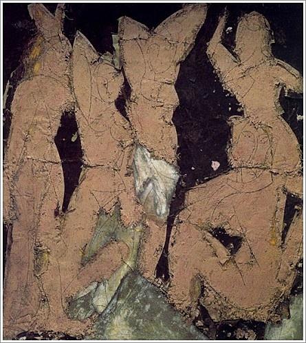 Manolo Valdés Las señoritas de Avignon II 1990.