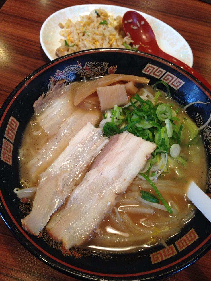 ラーメン横綱・桂麺房(阪急桂駅)