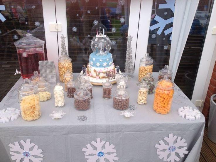 Frozen dessert table x