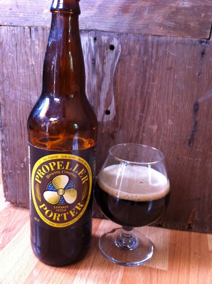 Propeller London-Style Porter 650ml, 5%abv 9.5
