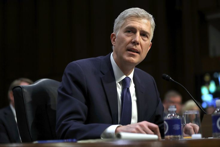 "Neil Gorsuch Said He ""Would Have Walked Out the Door"" If Donald Trump Asked Him to Overturn *Roe* v. *Wade*"