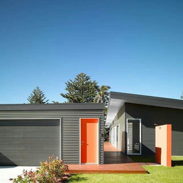 Colourbond house