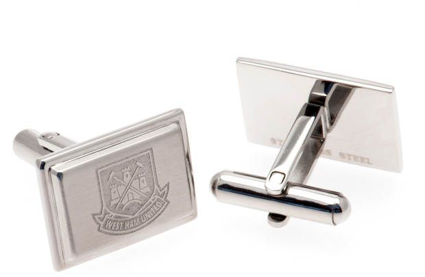 Stainless Steel West Ham Cufflinks: Official West Ham United Stainless Steel Cufflinks. This item comes in an… #UKShopping #OnlineShopping