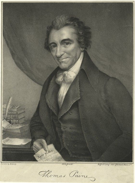 what role did thomas paine play in the revolutionary war